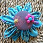 Tsumami Kanzashi Flower Br..